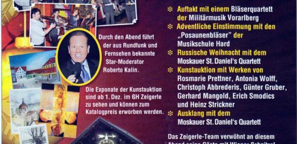 Advent Charity im Zeigerle